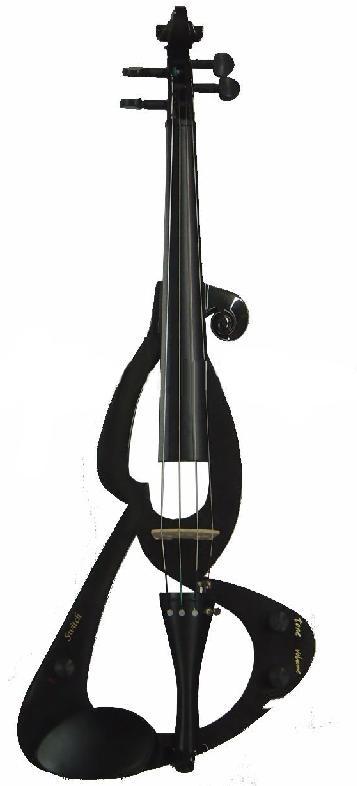 כינור חשמלי שחור