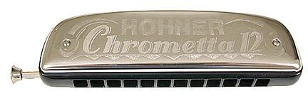 מפוחית-Hohner Chrometta 12 c