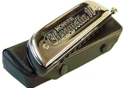 מפוחית-Hohner Chrometta 10