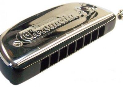 מפוחית-Hohner Chrometta 8