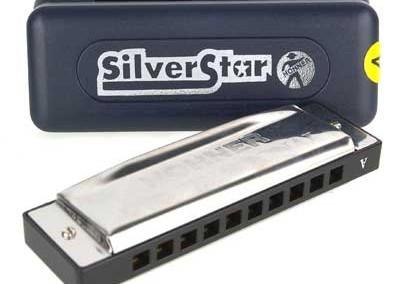 מפוחית-Hohner silver star