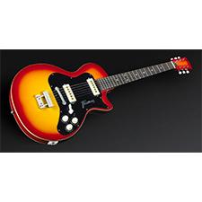 גיטרה חשמלית FRAMUS HOLLYWOOD singlecut red gold