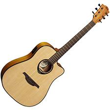 גיטרה אקוסטית מוגברת LAG T66DCE