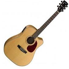 גיטרה אקוסטית מוגברת Cort MR710F FM NAT