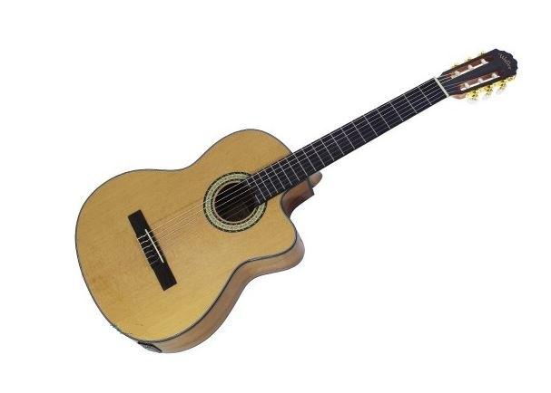 גיטרה קלאסית מוגברת WALDEN