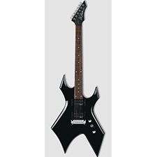 גיטרה וורלוק שחורה BC RICH WGBK