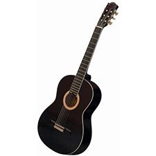 גיטרה קלאסית Alberto manchini Black