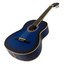 גיטרה קלאסית Alberto manchini Blue