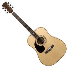 גיטרה אקוסטית שמאלית CORT AD880LH