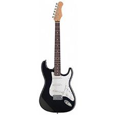 גיטרה חשמלית שחורה סטראטוקסטר סטייל