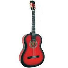 גיטרה קלאסית Alberto Manchini Red