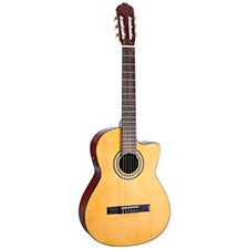 גיטרה קלאסית מוגברת SOPRAN CEQ