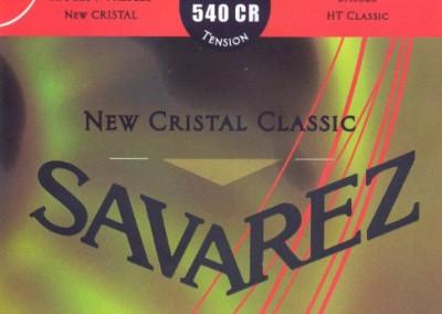 סט מיתרים לקלאסית SAVAREZ CRISTAL 540CR