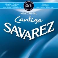 סט מיתרים לקלאסית SAVAREZ CRISTAL CANTIGA 510CJ HT