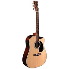 גיטרה אקוסטית מוגברת SIGMA DRC-28E CUTAWAY