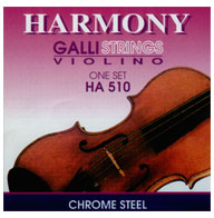 סט מיתרים לכינור GALLI HA510 HARMONY