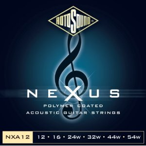 סט מיתרים 0.12 לאקוסטית ROTOSOUND NEXUS