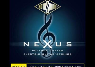 סט מיתרים 0.10לחשמלית ROTOSOUND NEXUS