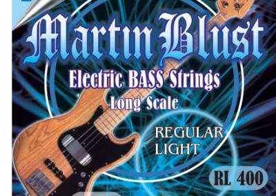סט מיתרים לגיטרה בס MARTIN BLUST 0.45