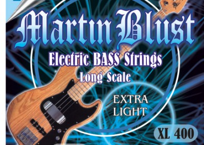 סט מיתרים לגיטרה בס MARTIN BLUST 0.40