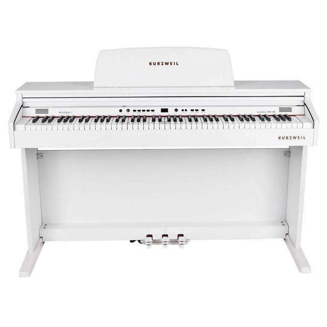 פסנתר חשמלי 88 קלידים KURZWEIL KA130 WH