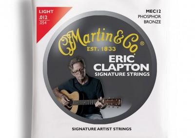 סט מיתרים לאקוסטית 0.12 MARTIN ERIC CLAPTON