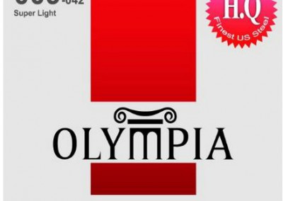 סט מיתרים לחשמלית OLYMPIA HQE-0942 0.09