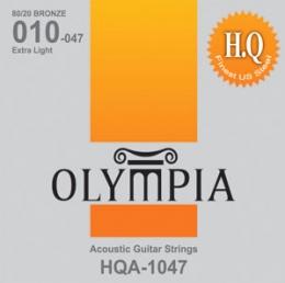 סט מיתרים 0.10 לאקוסטית OLYMPIA HQA-1047