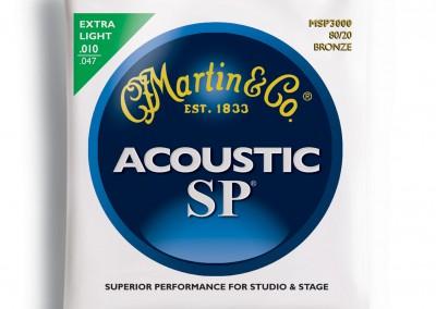 סט מיתרים 0.10 לאקוסטית MARTIN SP