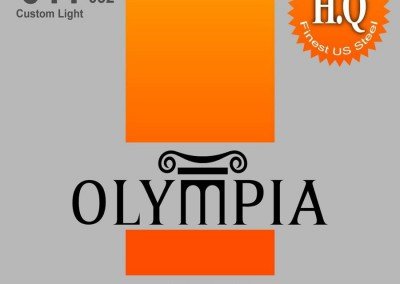 סט מיתרים 0.11 לאקוסטית OLYMPIA HQA-1152