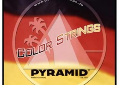 סט מיתרים צבעוניים לקלאסית פירמיד