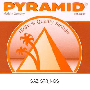 סט 7 מיתרים לסאז PYRAMID 0.18